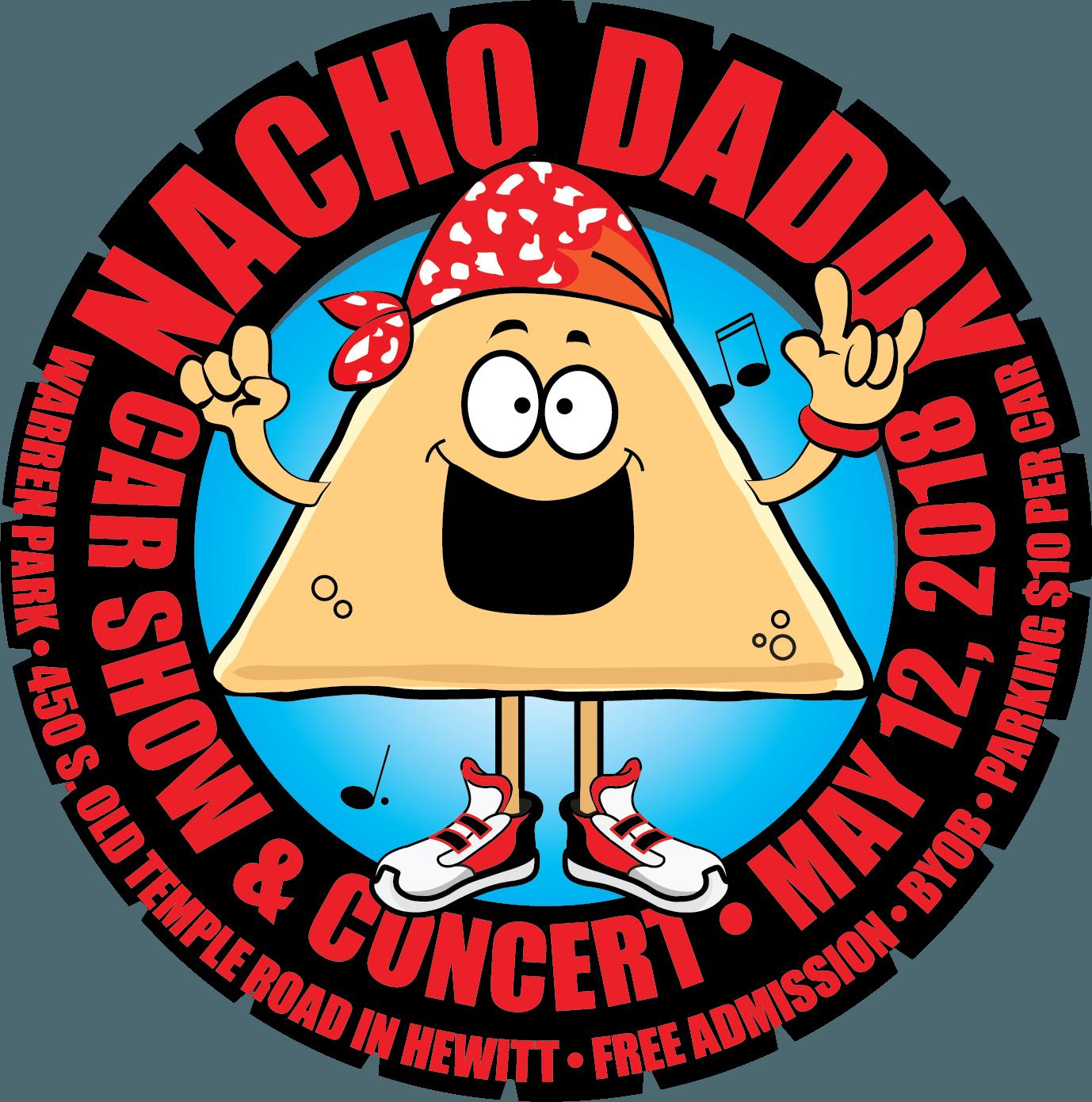 Daddy car show concert. Nacho clipart food