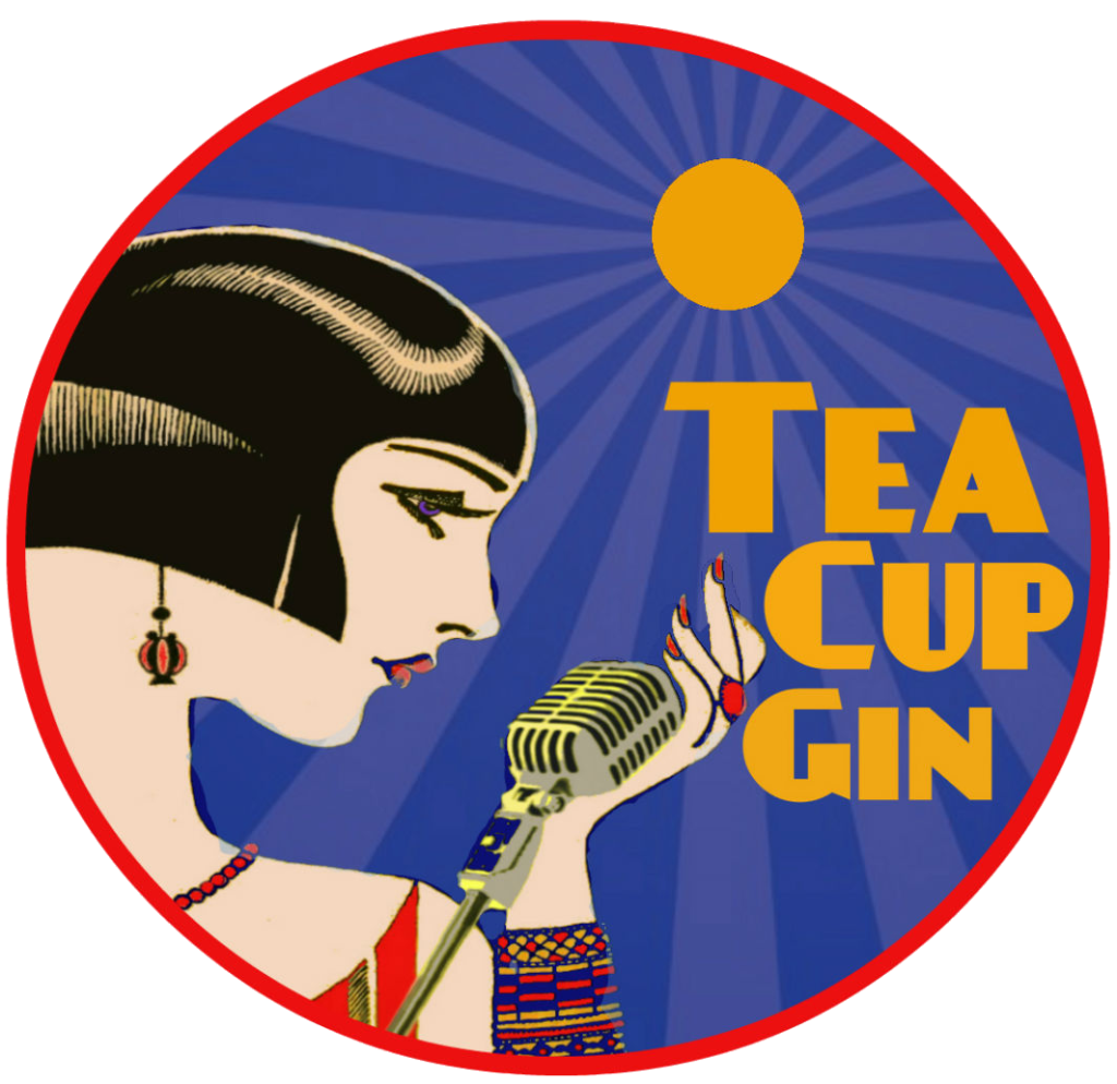Home tea cup gin. Jazz clipart band baja