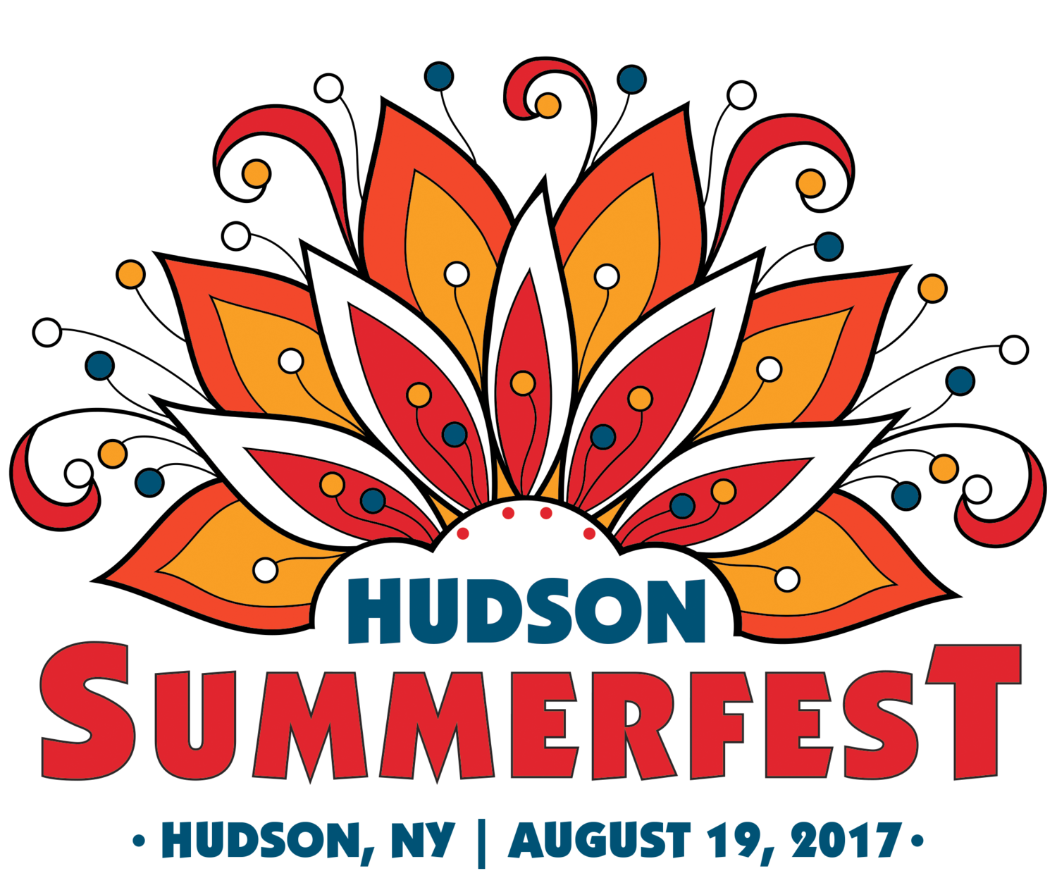 Hudson summerfest . Writer clipart finished work