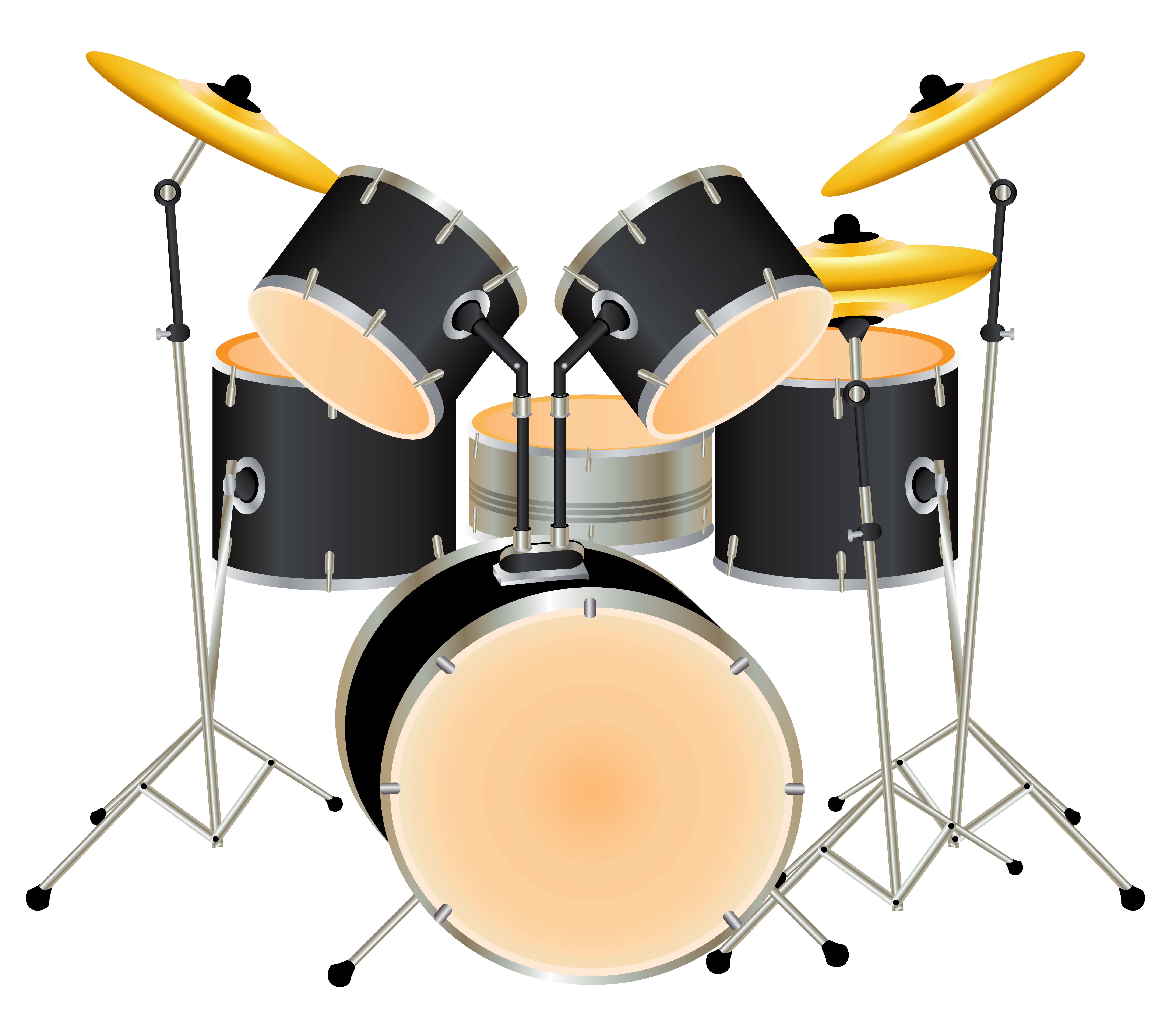 drums clipart pink