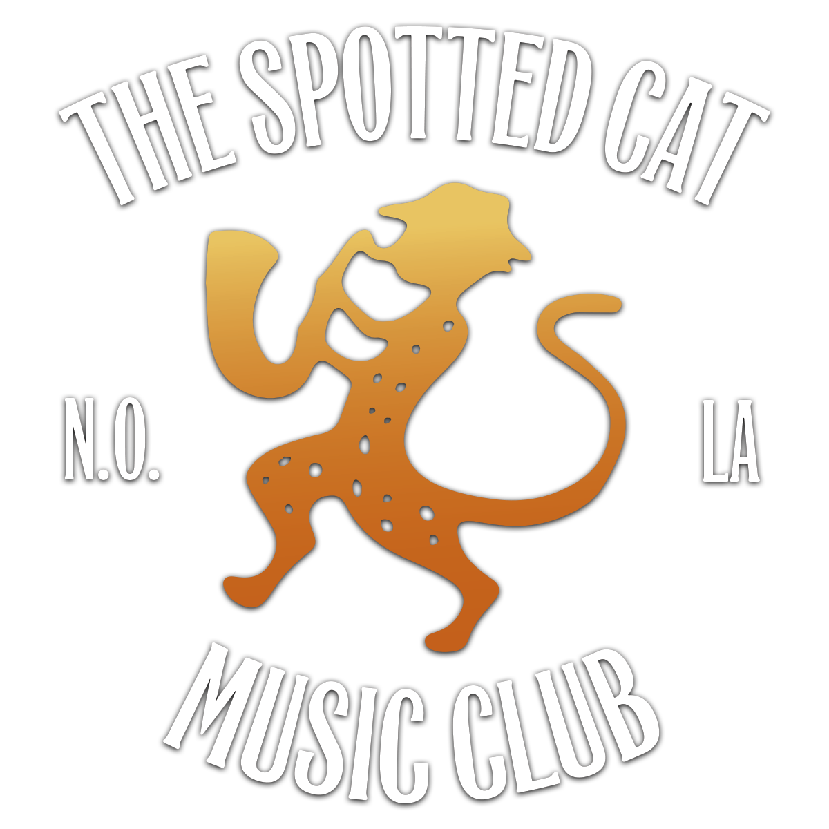 The spotted cat music. Jazz clipart live entertainment
