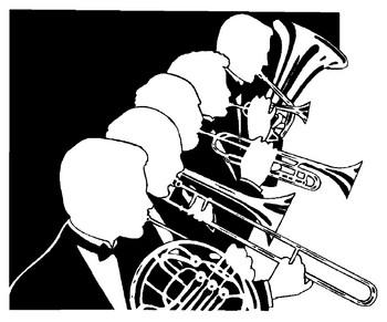 Free download clip art. Concert clipart symphony band