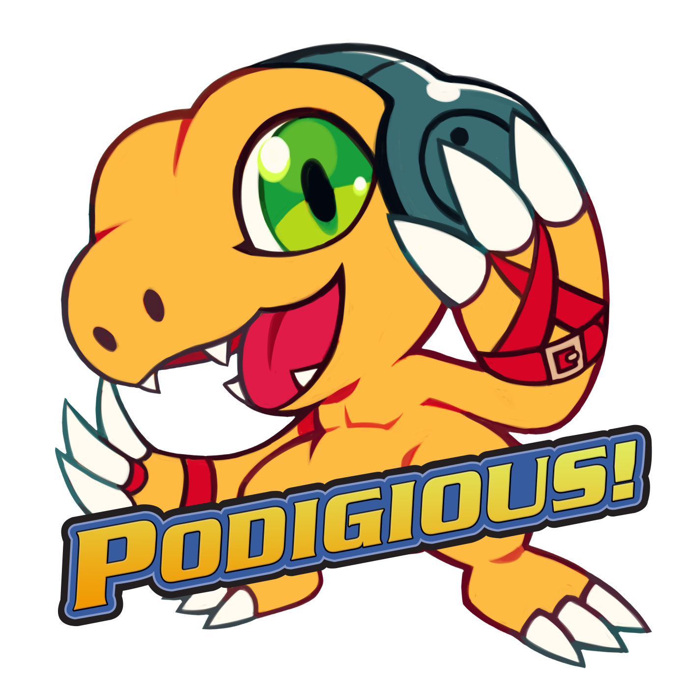 Podigious a digimon podcast. Geology clipart pond dipping