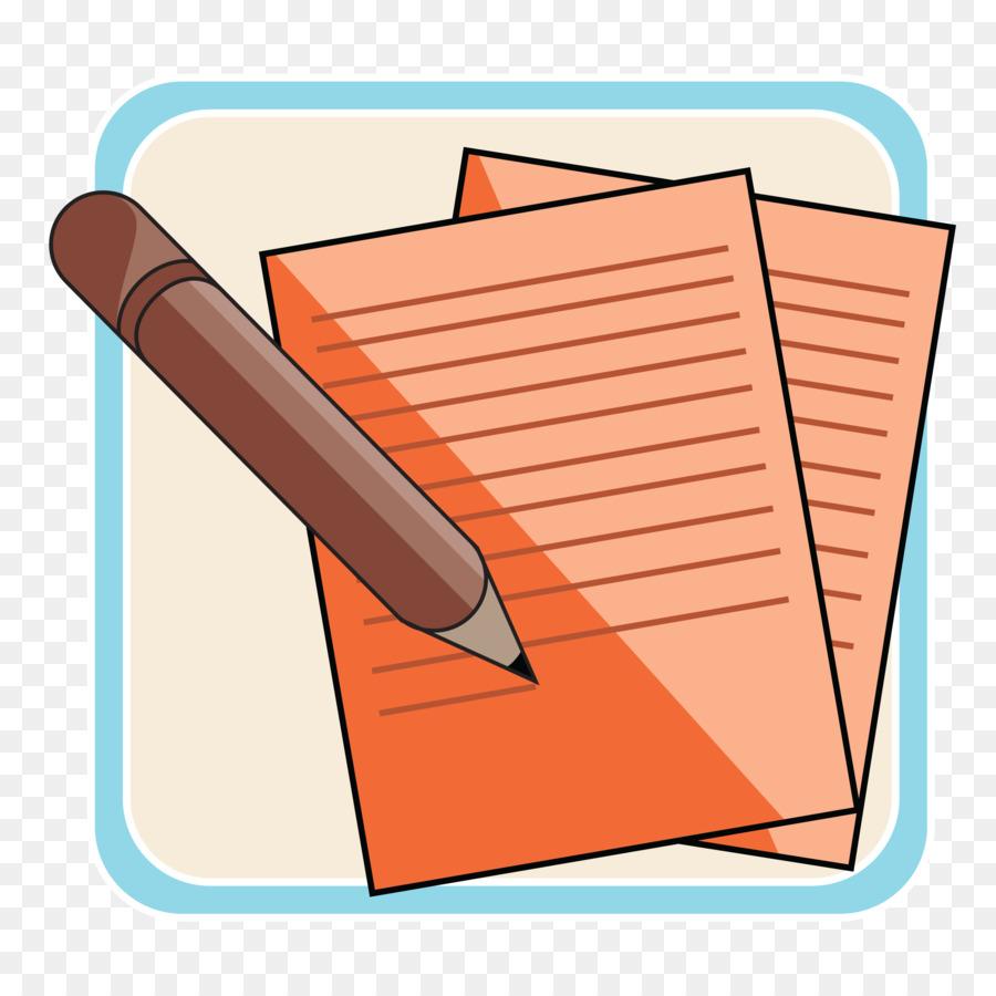Writing cartoon peach transparent. Conclusion clipart content