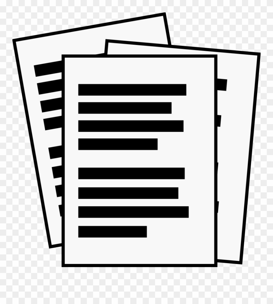 Computer icons download paper. Conclusion clipart documentation
