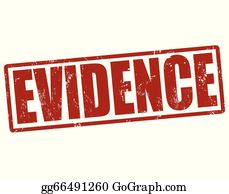 Evidence clipart police evidence. Eps vector proof stamp