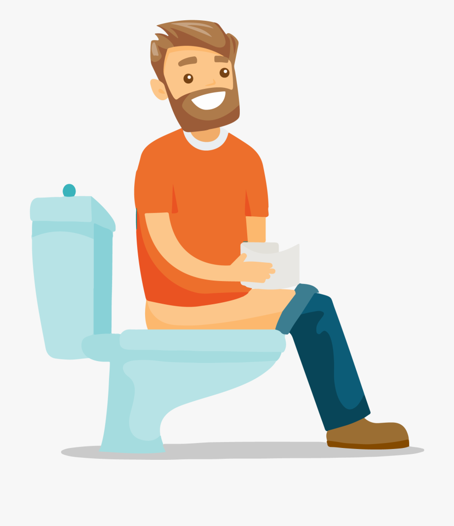 Conclusion clipart fashion. Cartoon guy sitting on