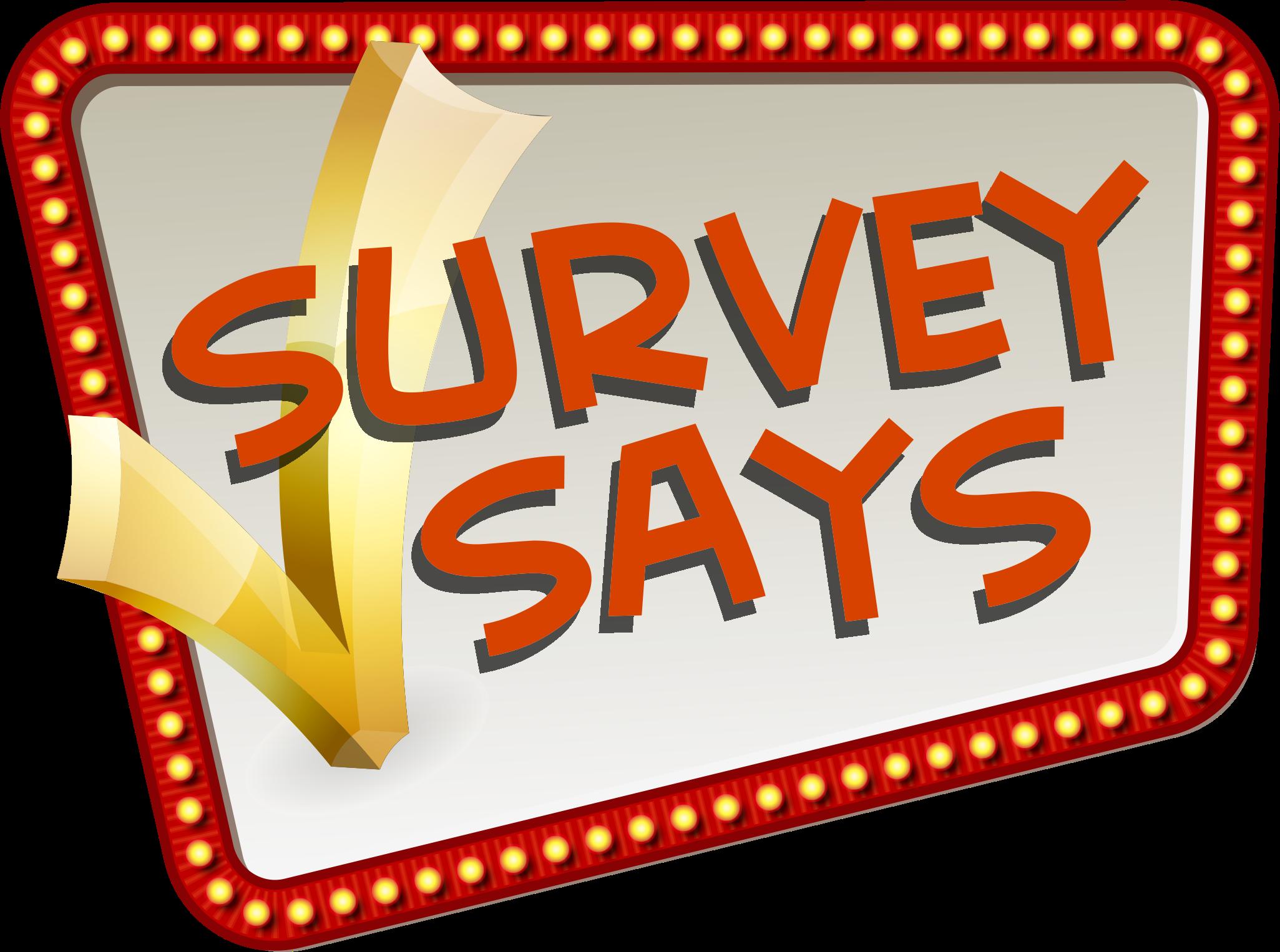 Voting clipart survey.  huge freebie download