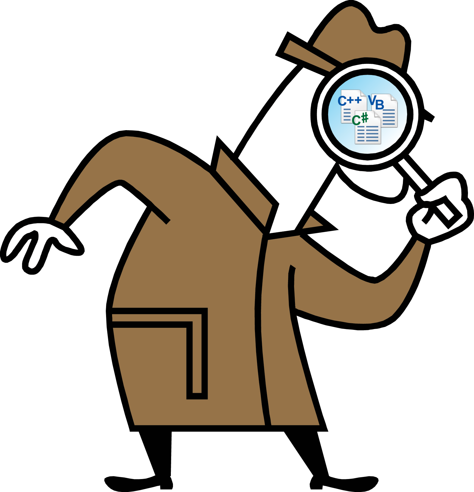Words clipart detective. Inferencing clip art the