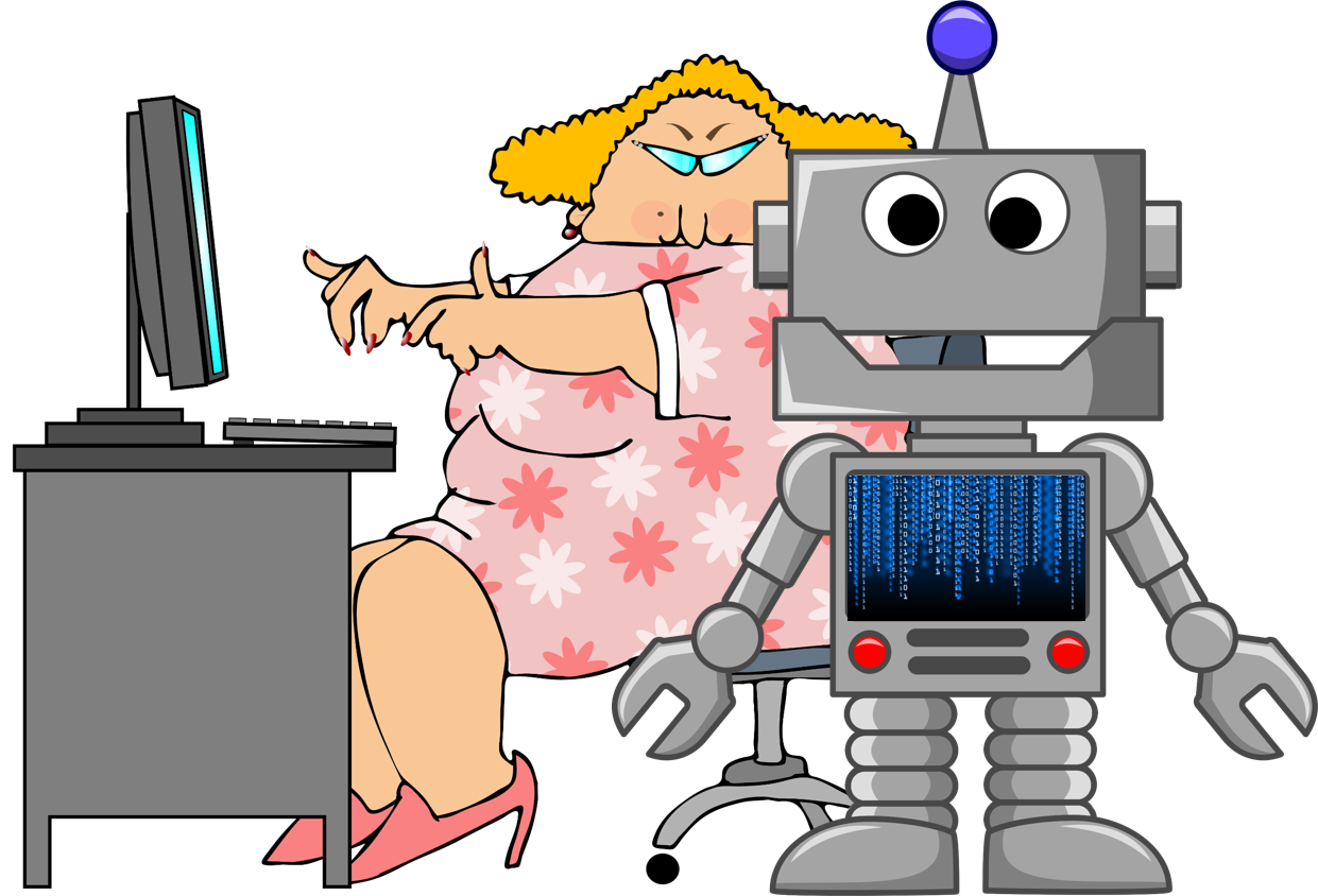 Cognitive process automation and. Worry clipart overwhelming