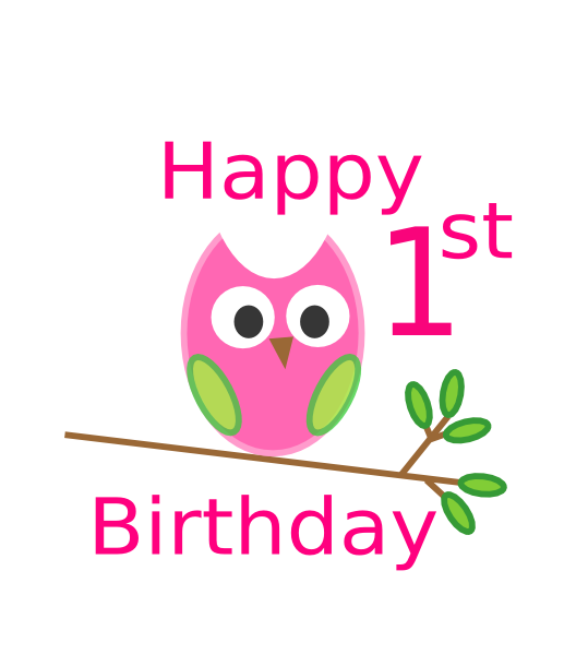 Surprise clipart birthday wallpaper. Happy st cards wishes