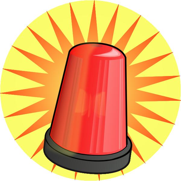 Energy clipart sound. Orange light alarm clip
