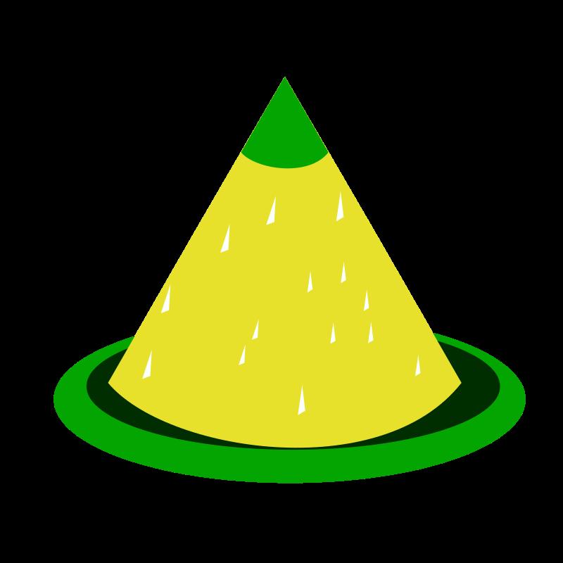 Cone cone shape