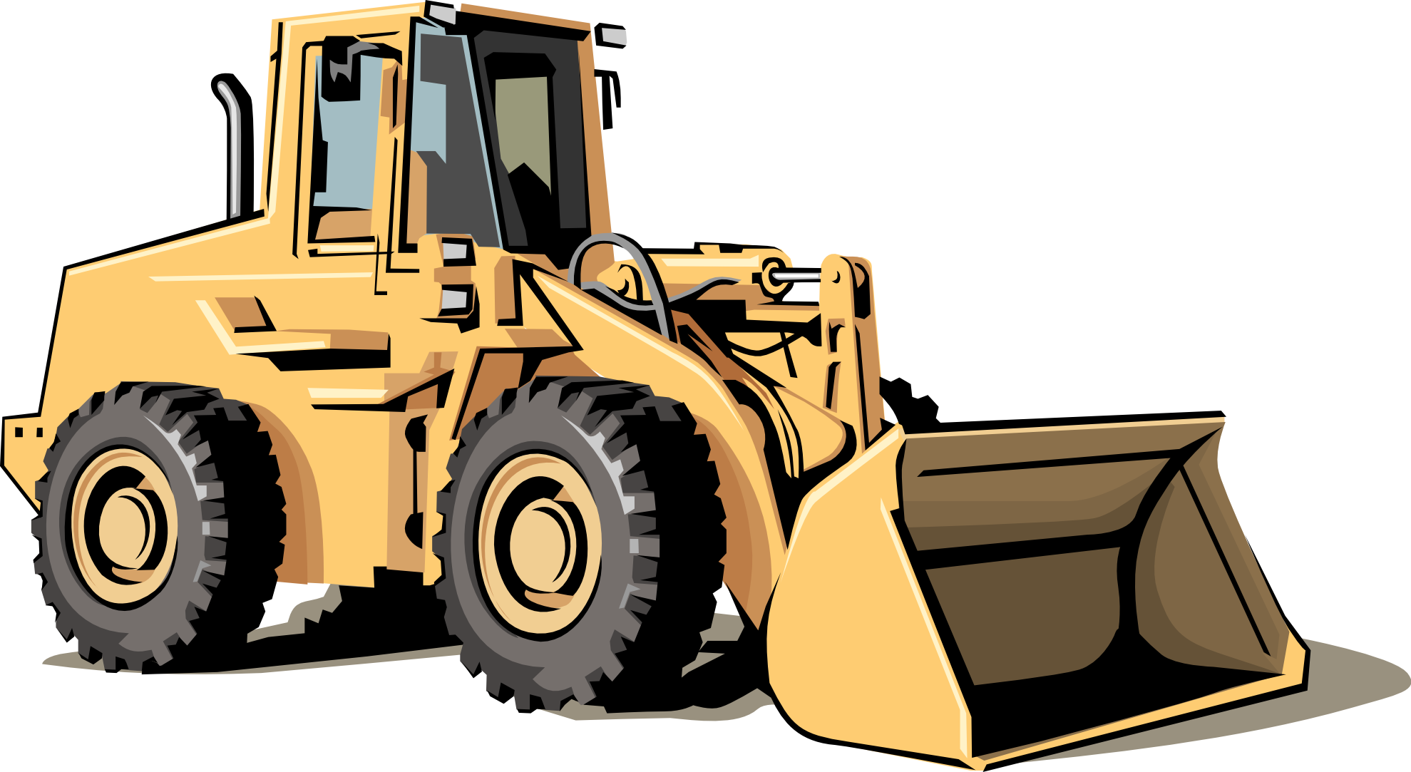 collection of equipment. Excavator clipart construction machine