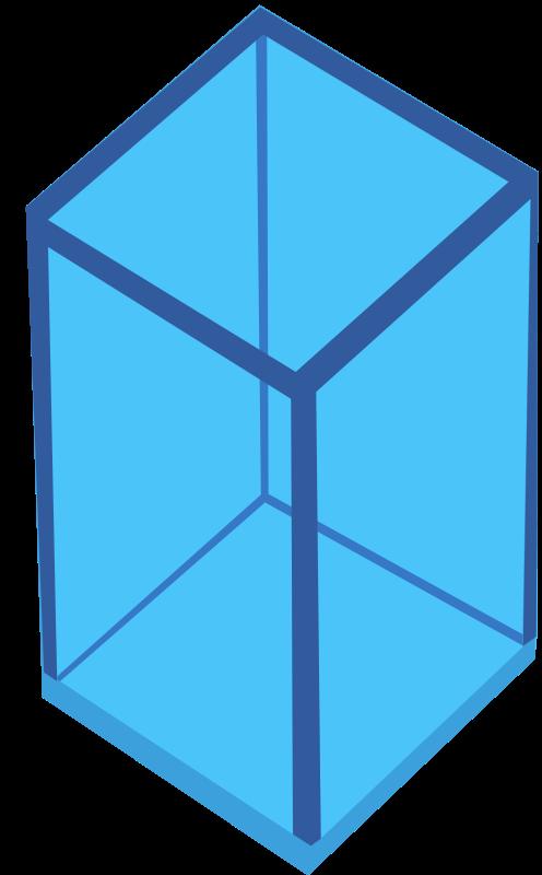 Square clipart 2d shape. Identify shapes as d