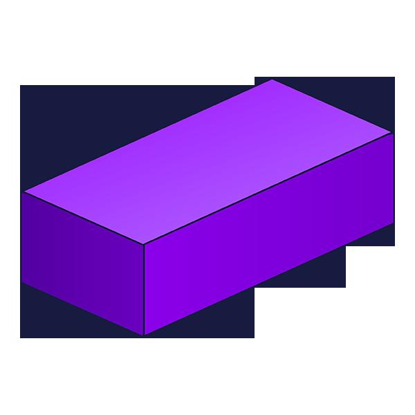 Cuboid d shape nets. Geometry clipart math skill