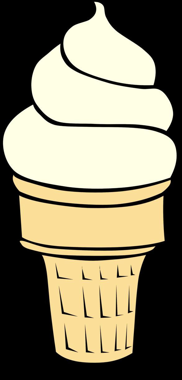 Cream cone clip art. Ice clipart vector