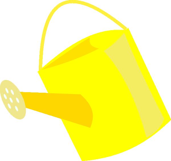Empty watering can clip. Water clipart bin