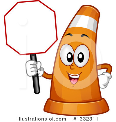 Cone clipart highway construction. Traffic illustration by bnp