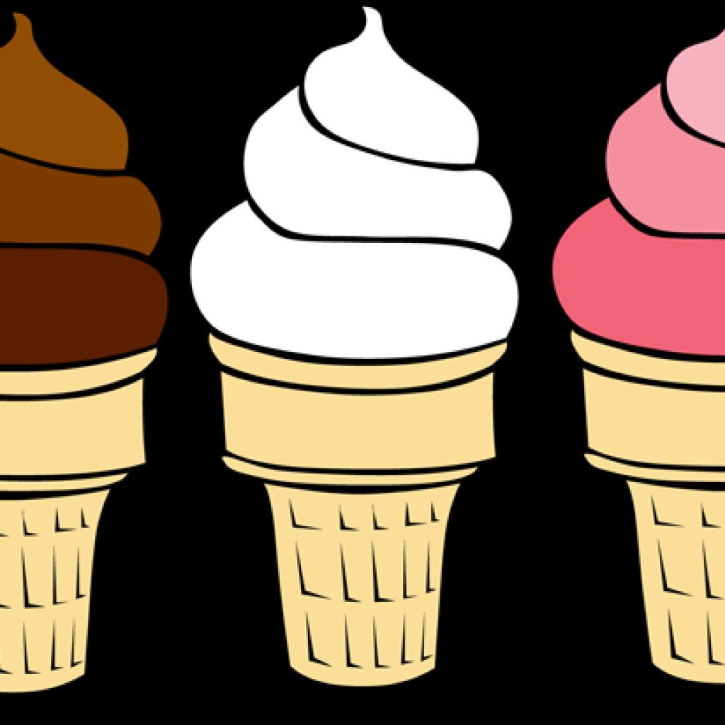 Clip art cones free. Cow clipart ice cream