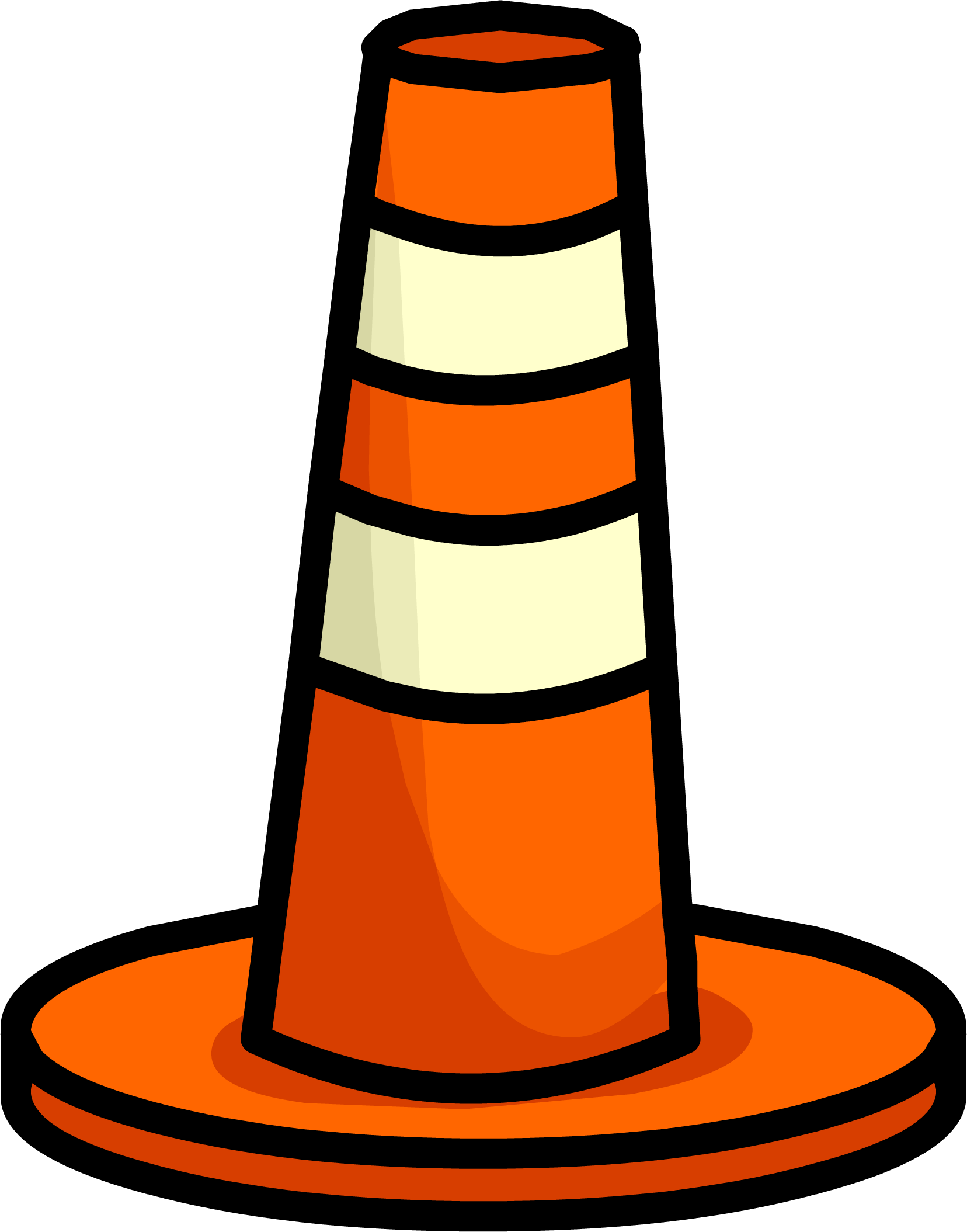 Pylon club penguin wiki. Construction clipart barrier