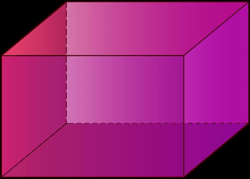 Cube rectangular prism
