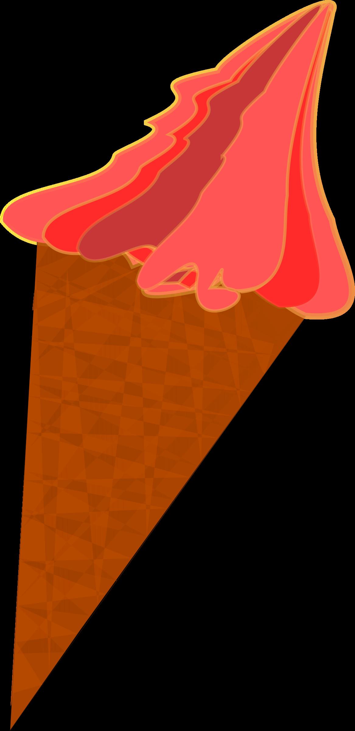 Icecream clipart red. Wild berry ice cream