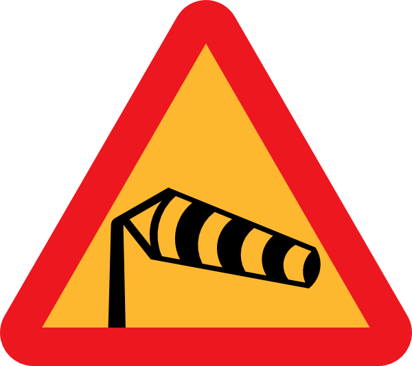 windy clipart windsock