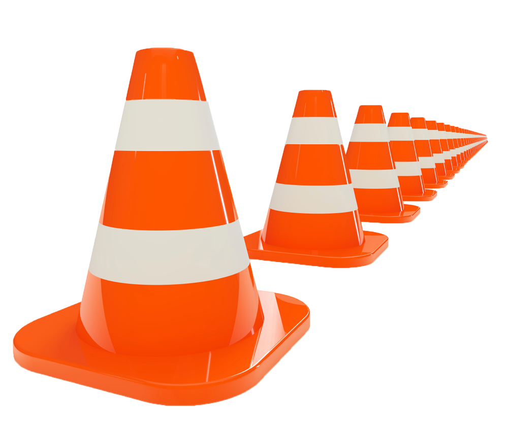 Cone clipart safety cone. Orange s png image