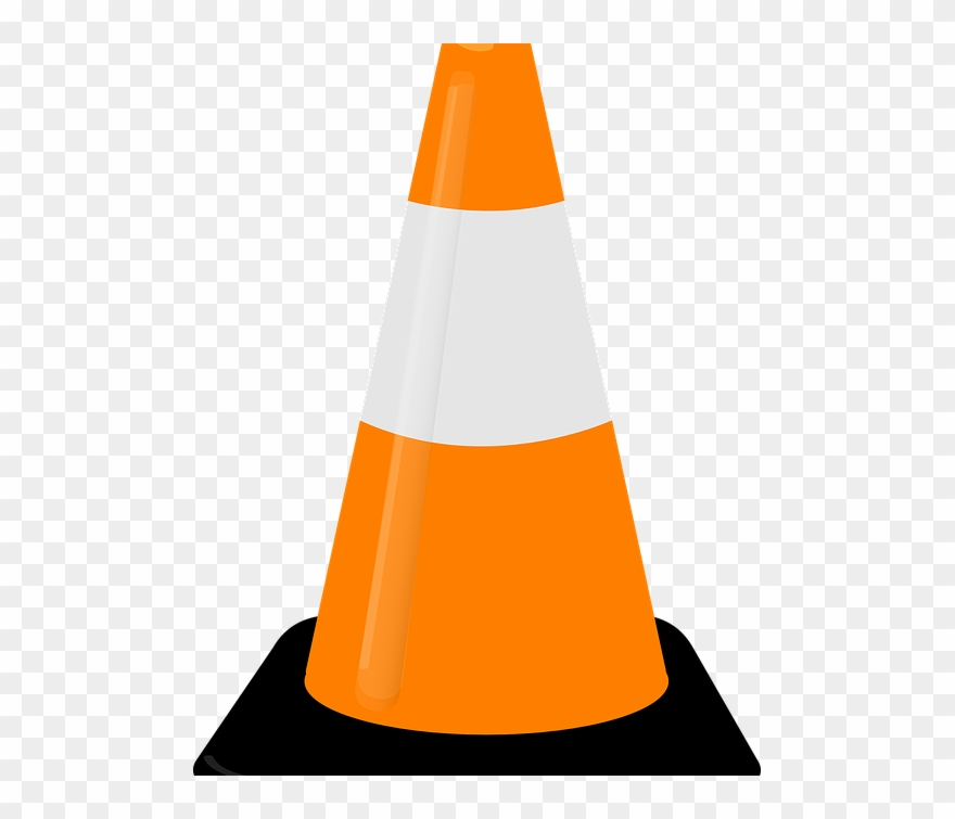 Cone clipart safety cone. Road week clip art
