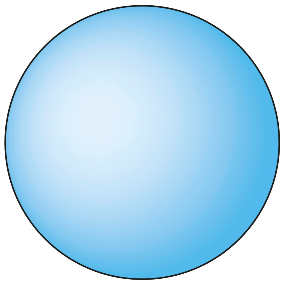 cone clipart sphere object