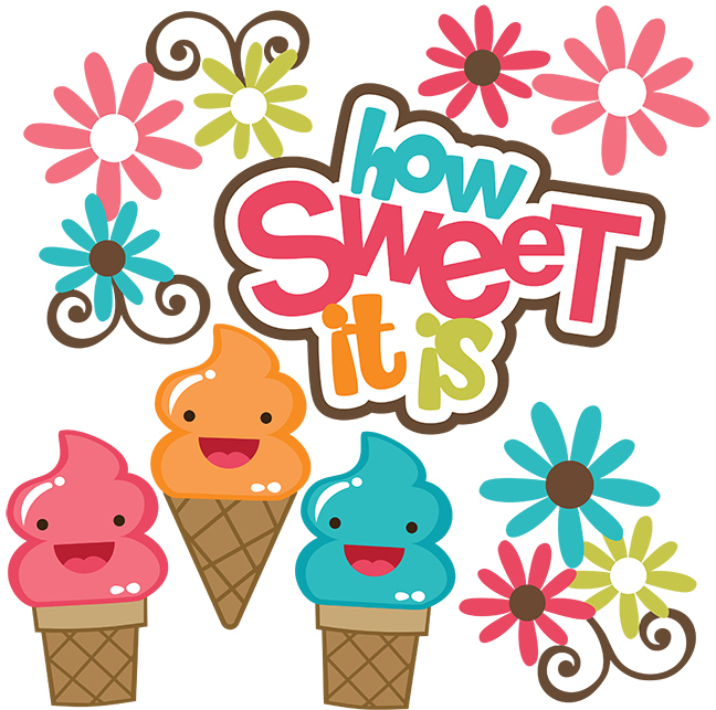 How sweet it is. Ice clipart file