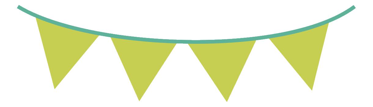 festival clipart string flag