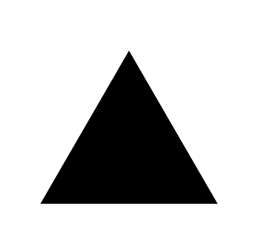 collection of black. Triangular clipart pyramid