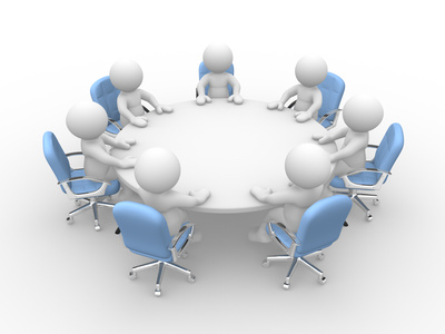 Business royalty free clip. Conference clipart construction meeting