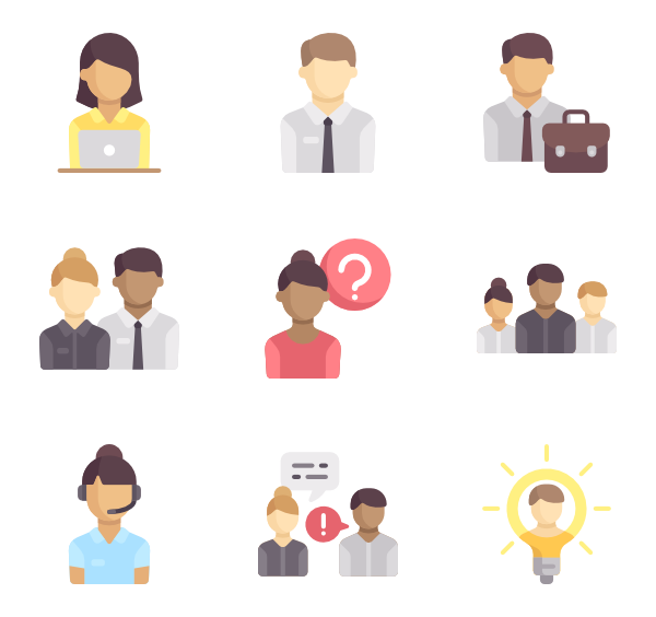 Teamwork clipart business meeting agenda. Icons free vector human