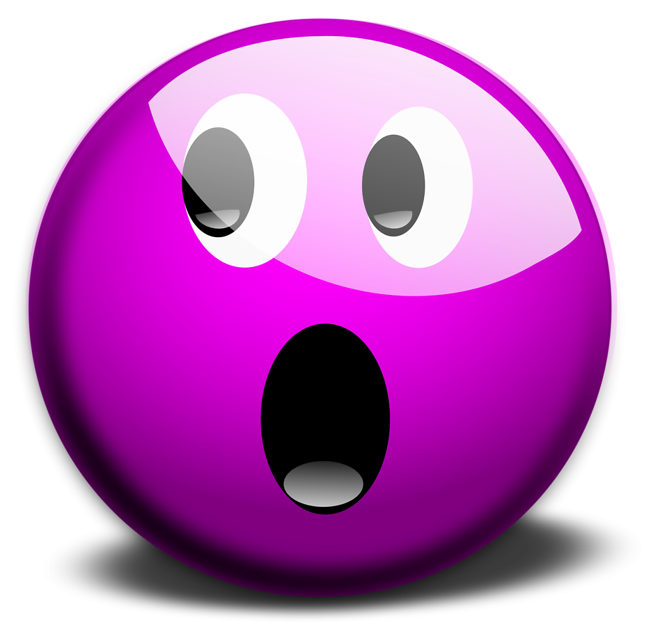 Surprise clipart surprised emoticon. Free stock photo illustration