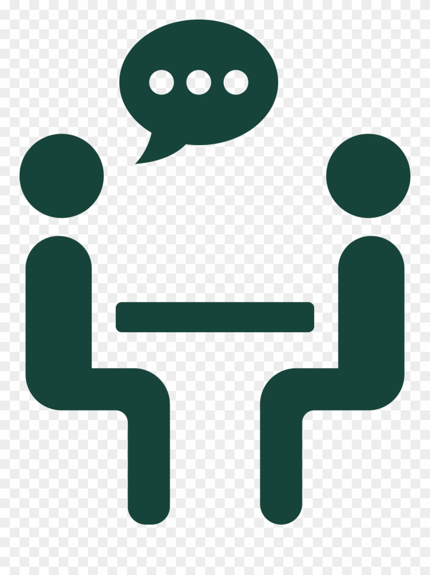 Meet the speaker icon. Conference clipart face to face meeting