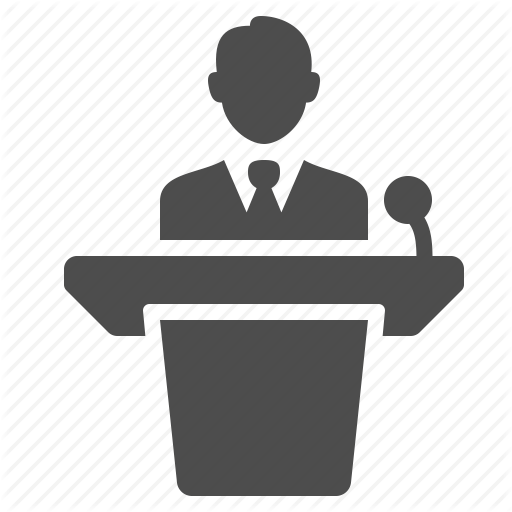 Conference clipart guest speaker. Business background presentation text