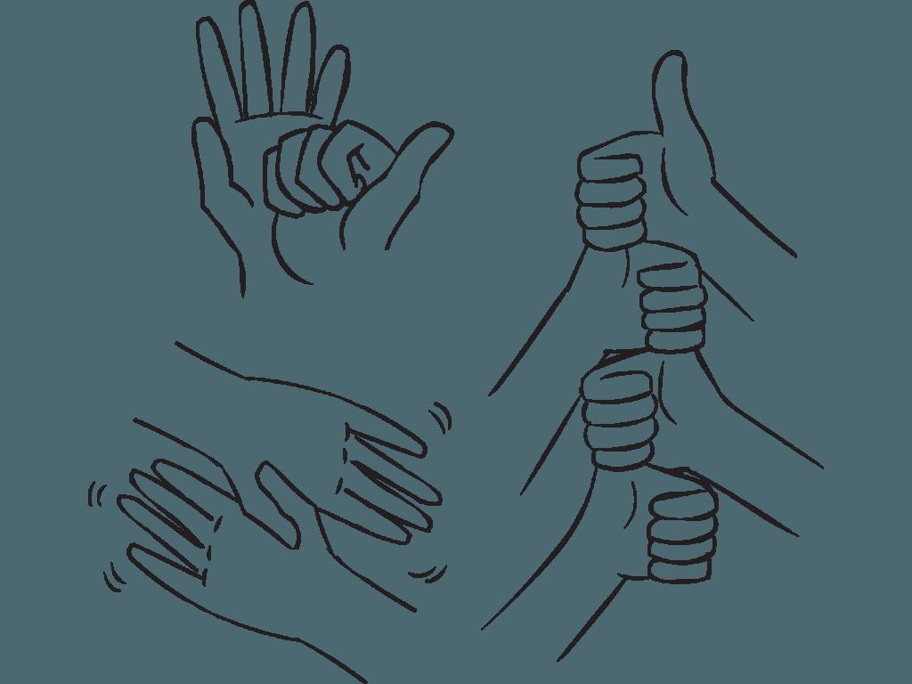Handshake clipart group.  handshakes in minutes