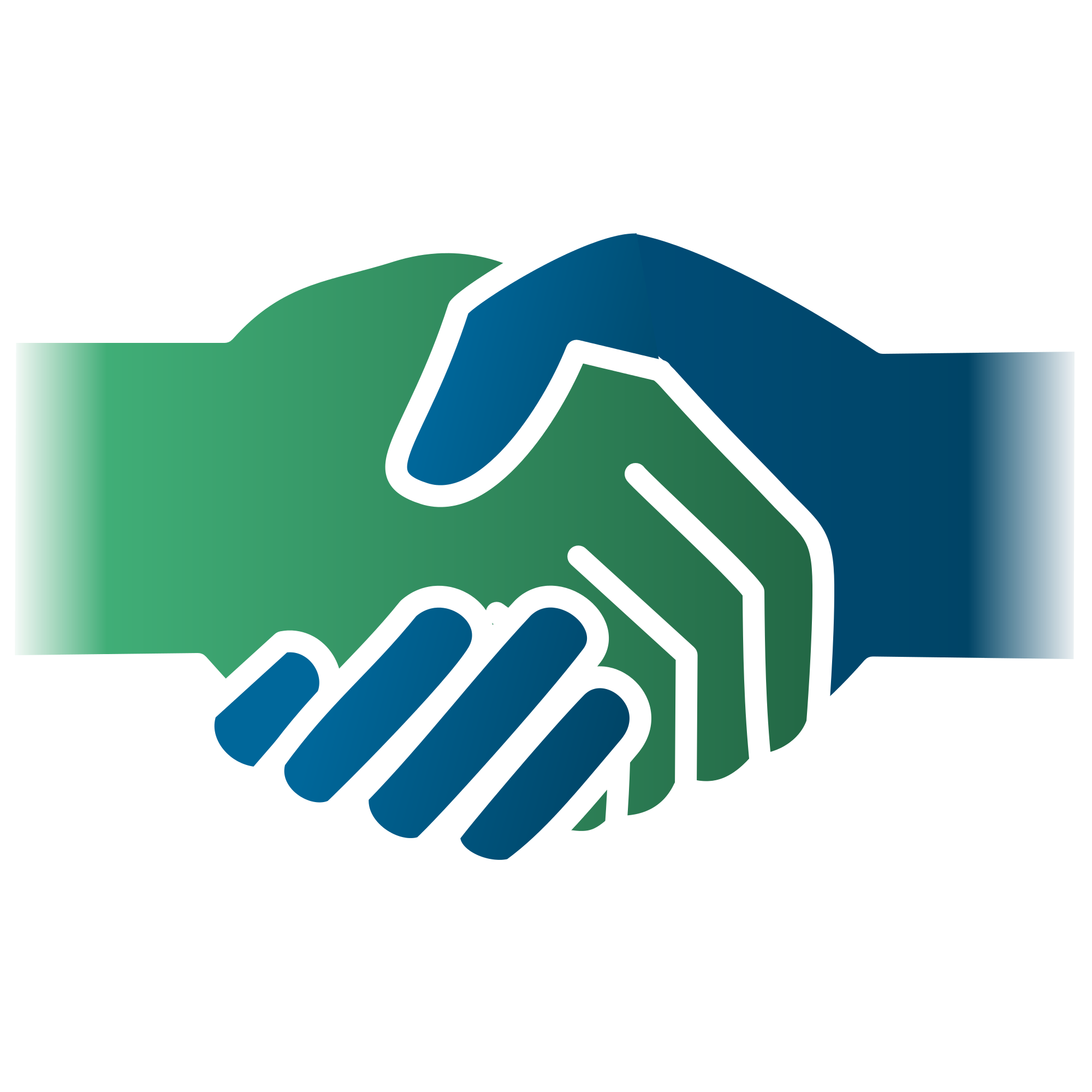 The ask amount capital. Handshake clipart support