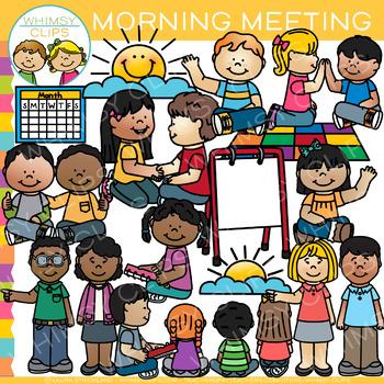 Morning meeting clip art. Conference clipart kindergarten