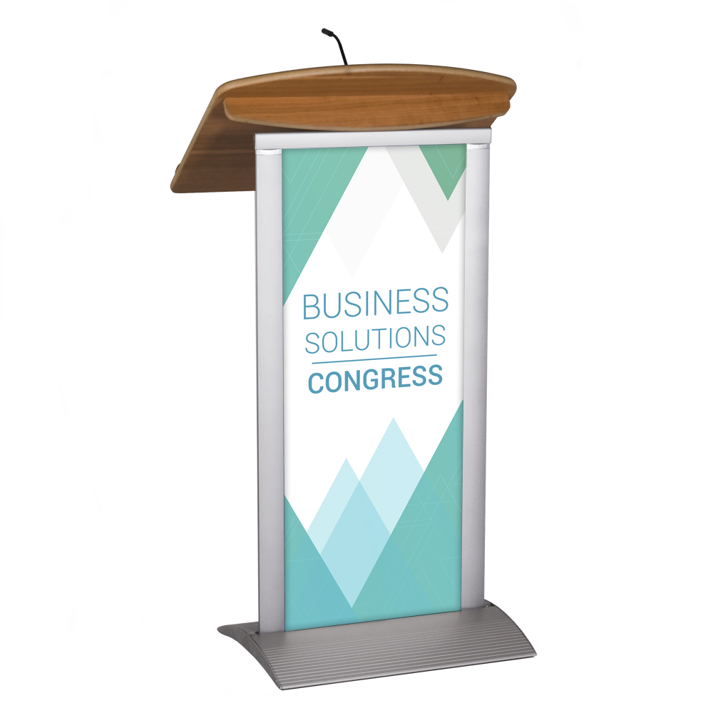Conference clipart lecturn. Floor standing lectern imageholders