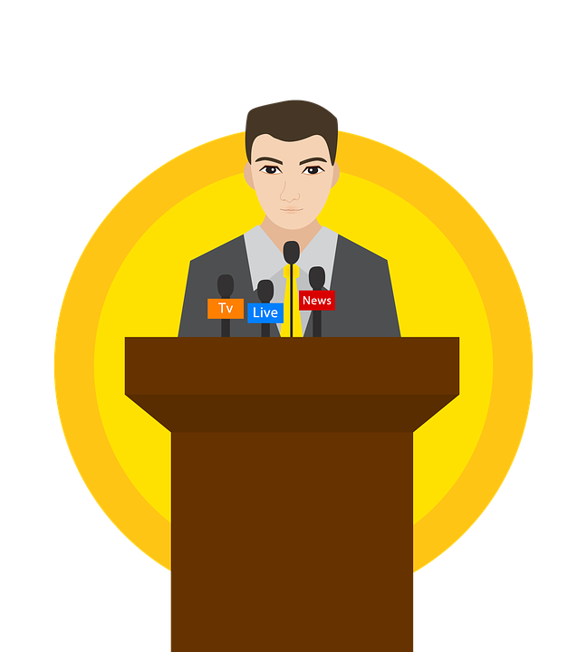 Press events le planner. Conference clipart media conference