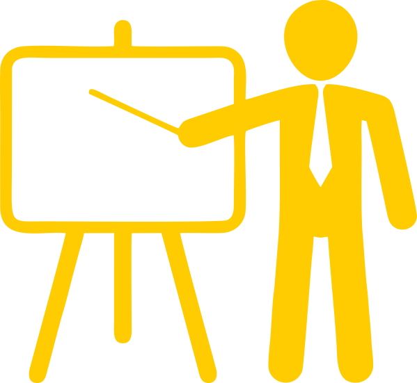 Guidelines for presenting authors. Conference clipart presentation meeting
