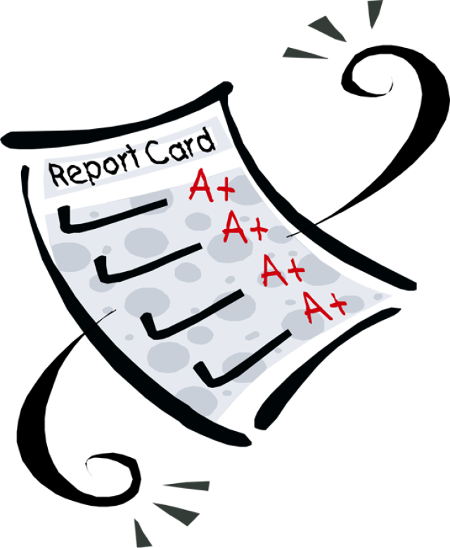 Essay clipart report card.  collection of cards