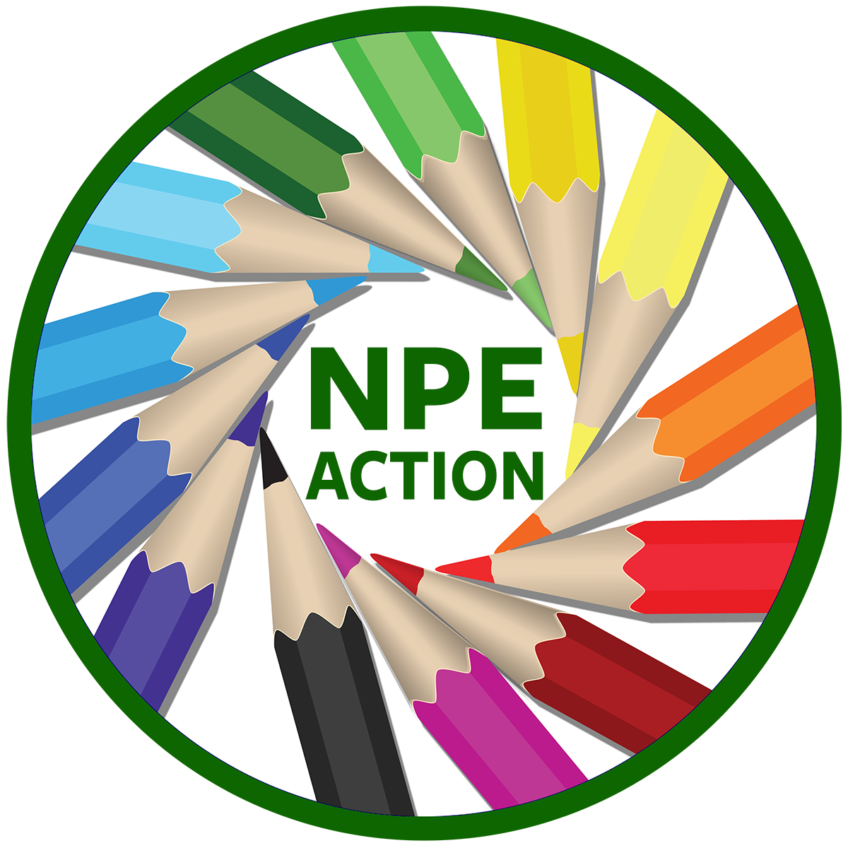 About npe action . Conference clipart school administrator