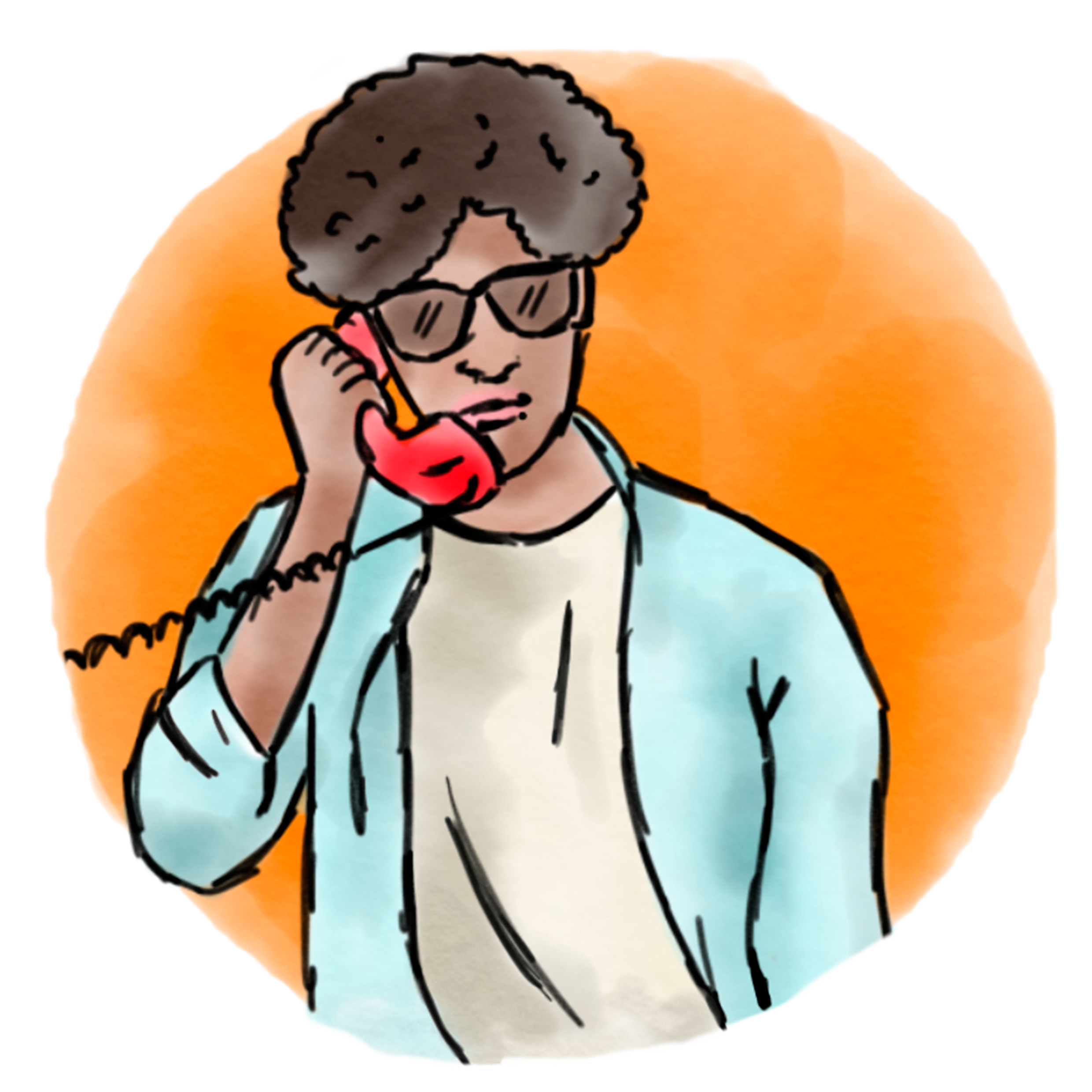 Business english trainer calls. Conference clipart teacher phone call
