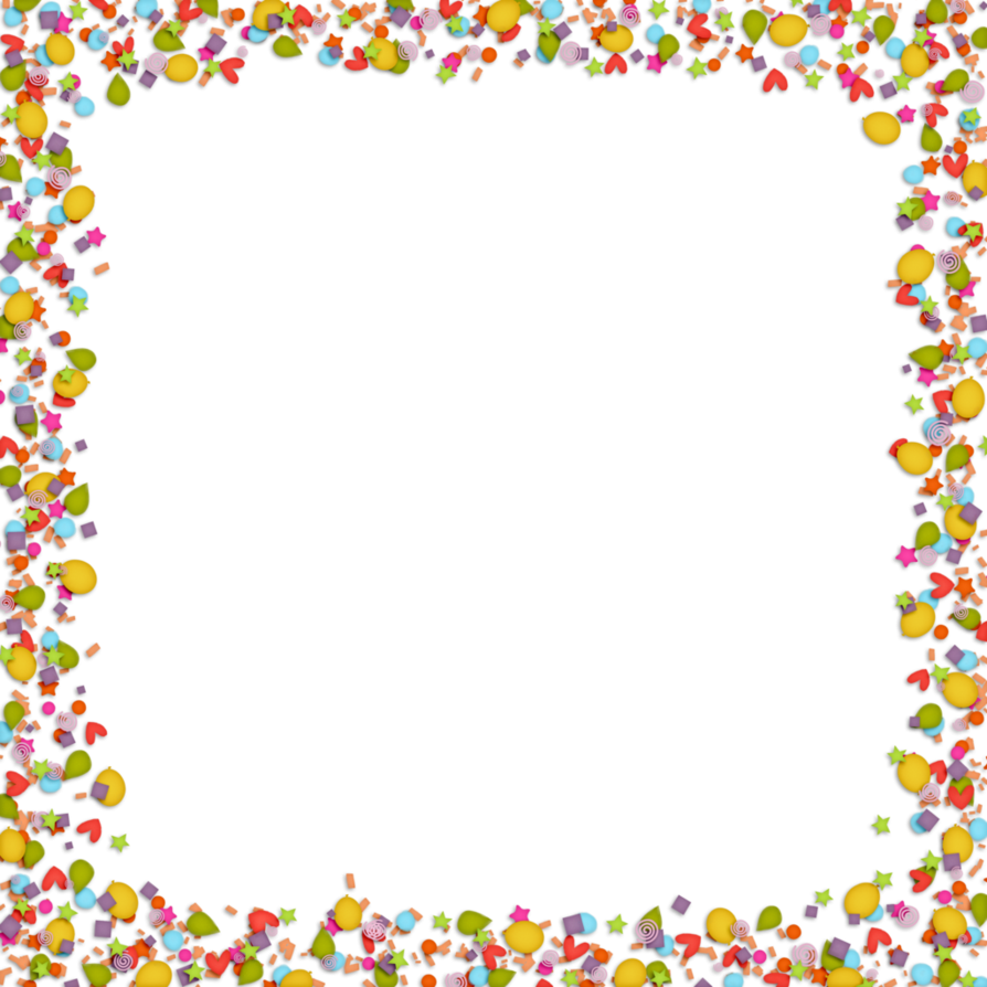 By hggraphicdesigns on deviantart. Confetti border png