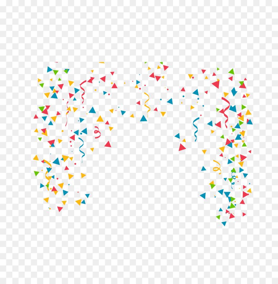 Confetti clipart. Birthday party clip art